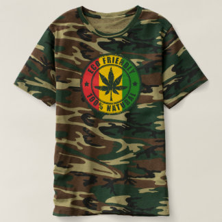 Eco Friendly - 100% Natural - Jah Army shirt