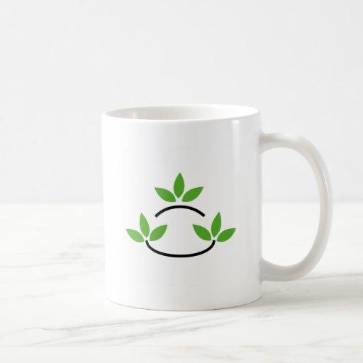 Eco friendly business logo mugs