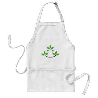 Eco friendly business logo standard apron