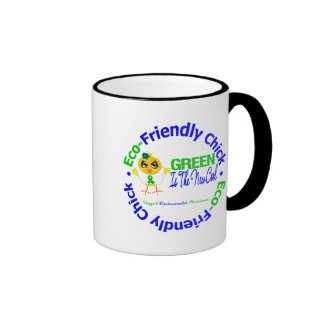 Eco-Friendly Chick Green Is The New Cool Mugs