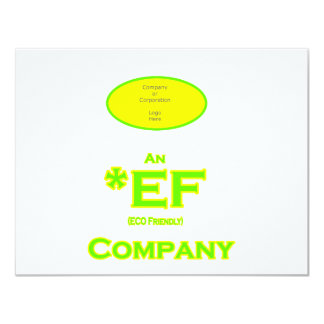ECO Friendly Company The MUSEUM Zazzle Gifts 11 Cm X 14 Cm Invitation Card