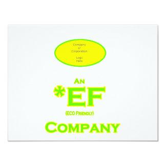 ECO Friendly Company The MUSEUM Zazzle Gifts 11 Cm X 14 Cm Invitation Card
