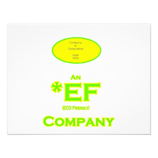 ECO Friendly Company The MUSEUM Zazzle Gifts Announcements