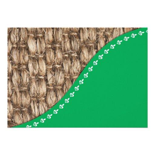 Eco friendly design card
