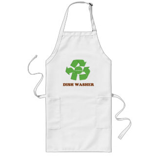 Eco Friendly Dishwasher Long Apron