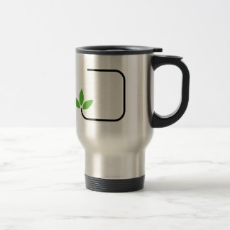 Eco friendly graphic stainless steel travel mug