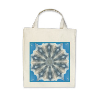 Eco-Friendly Ice Queen Kaleidoscope Reusable Canvas Bags
