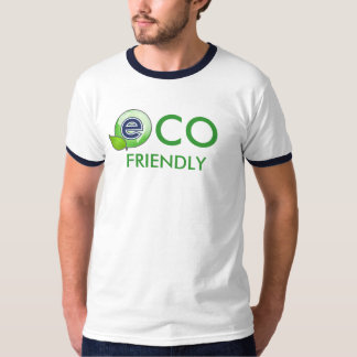 Eco Friendly LogoEarthLeaf Tee Shirt