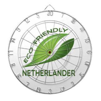 Eco Friendly Netherlander. Dart Board