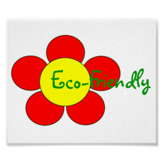 """Eco-Friendly"" Poster - Customizable"