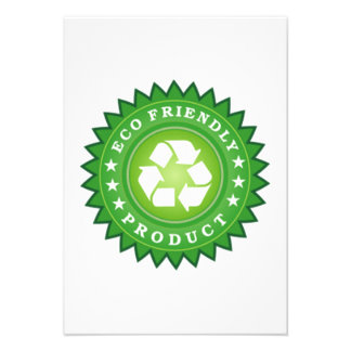ECO Friendly Product Personalized Invite