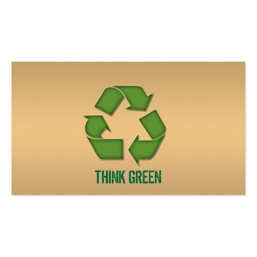 Eco Friendly Recycle Business Card
