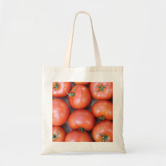 Eco-Friendly Reusable Tomato Budget Tote Bag