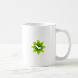 Eco friendly shoes basic white mug