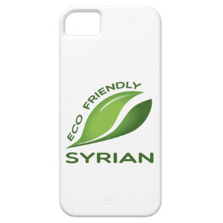 Eco Friendly Syrian. iPhone 5 Covers