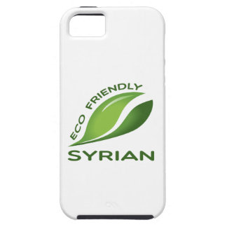Eco Friendly Syrian. Tough iPhone 5 Case