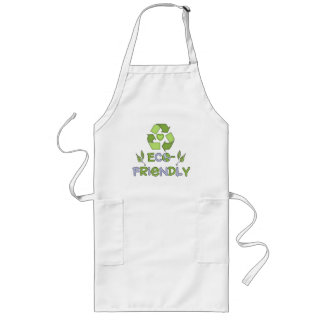Eco-Friendly T-shirts and Gifts Long Apron