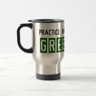 Eco-friendly travel mug