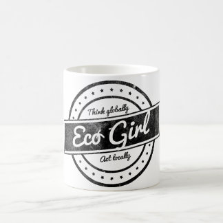 Eco Girl Basic White Mug