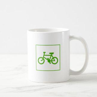 Eco Green Bicycle icon, bike, ecology Coffee Mug