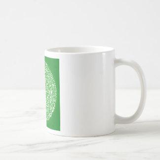Eco Green Save the World Basic White Mug