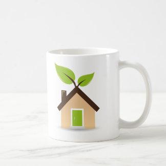 Eco House Coffee Mugs