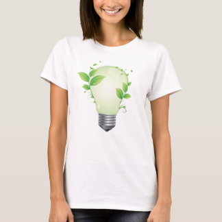 Eco Idea Light Bulb T-Shirt