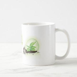 Eco leaf globes mug