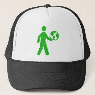 Eco man trucker hat
