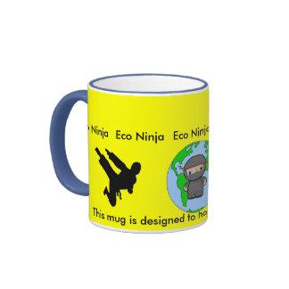 Eco Ninja Ringer Mug