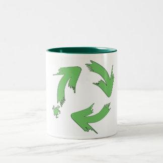 eco painting coffee mug