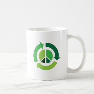 Eco Peace Basic White Mug