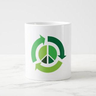 Eco Peace Jumbo Mug