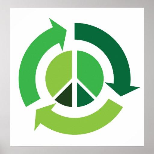 Eco Peace Print