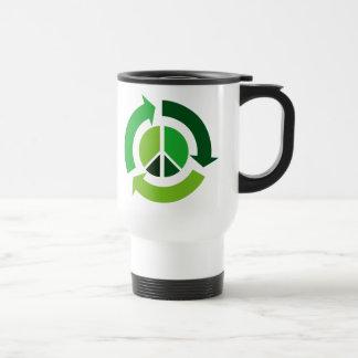Eco Peace Stainless Steel Travel Mug