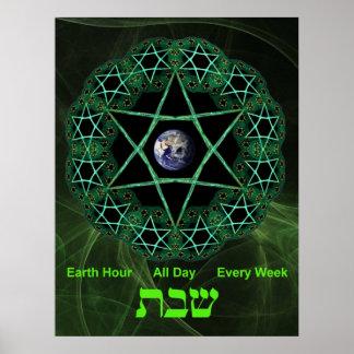 Eco-Shabbat Print