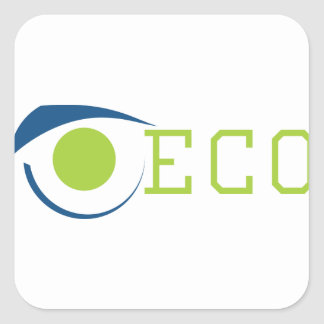 ECO SQUARE STICKER