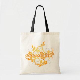 Eco-stylin' Canvas Shopping Bag