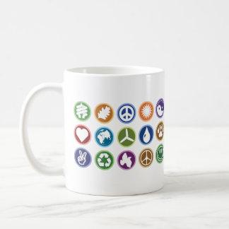 Eco Symbols Basic White Mug