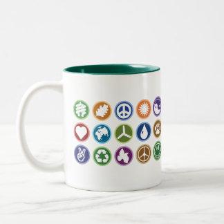 Eco Symbols Coffee Mug
