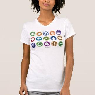 Eco Symbols Tshirts