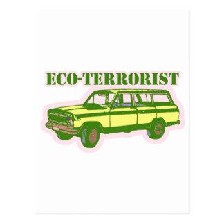 Eco-terrorist Post Cards