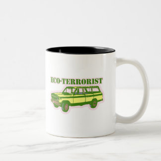 Eco-terrorist Two-Tone Coffee Mug