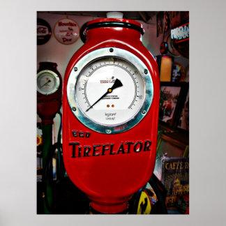 Eco Tireflator air meter Poster