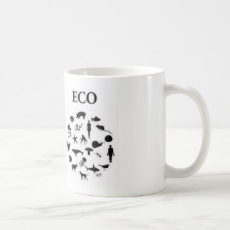 Eco vs Ego Basic White Mug