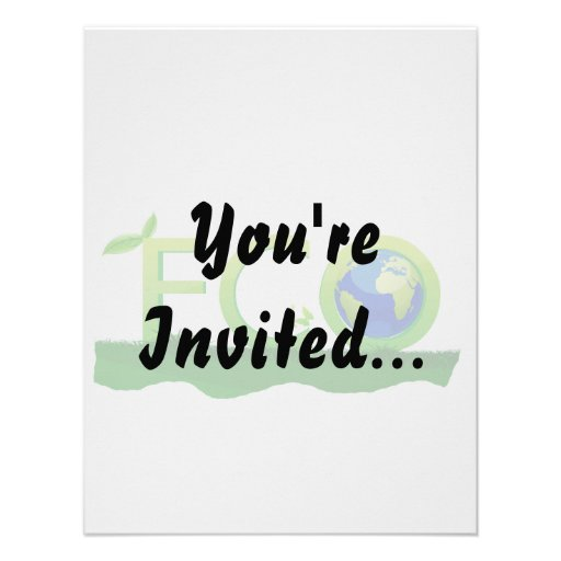 eco with globe as  word on grass.png personalized invite
