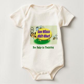 Eco Wizzz Chit Chat baby sleeper Baby Bodysuit