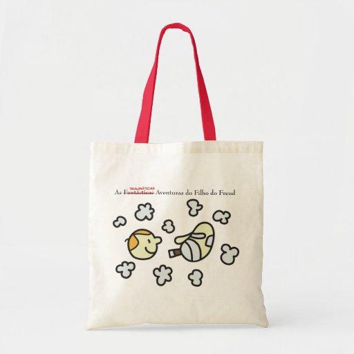 Ecobag Son of the Freud Cabeças and Fumaças Canvas Bags