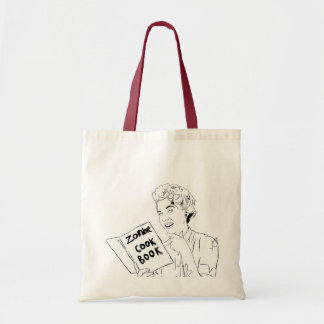 Ecobag Zombie Cook Book Budget Tote Bag