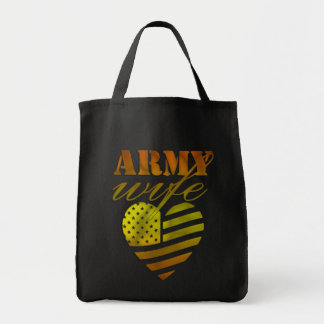 "Ecological bag ""ARMY Wife """